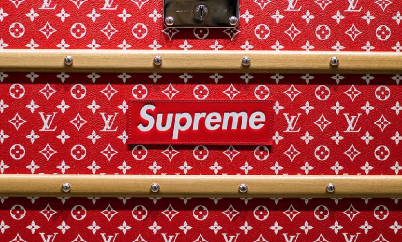 Louis Vuitton - Supreme - logos