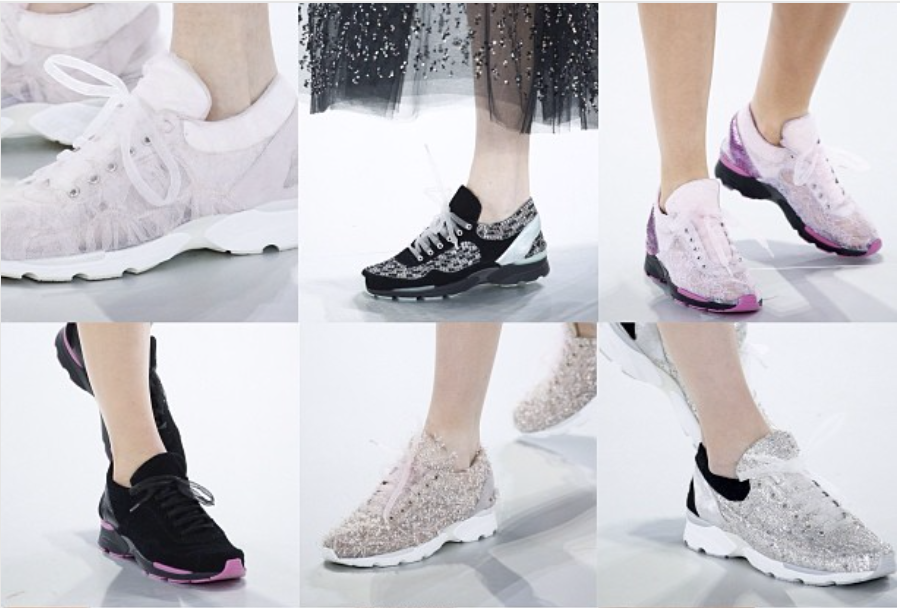 Chanel - trainers shoes