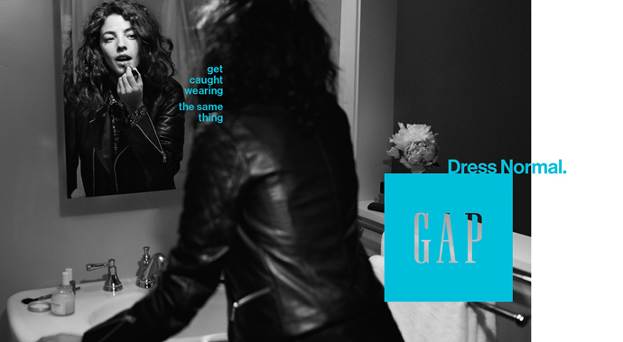 """The Gap brand crisis exemplified through its 2014 """"Dress Normal"""" American fashion campaign"""