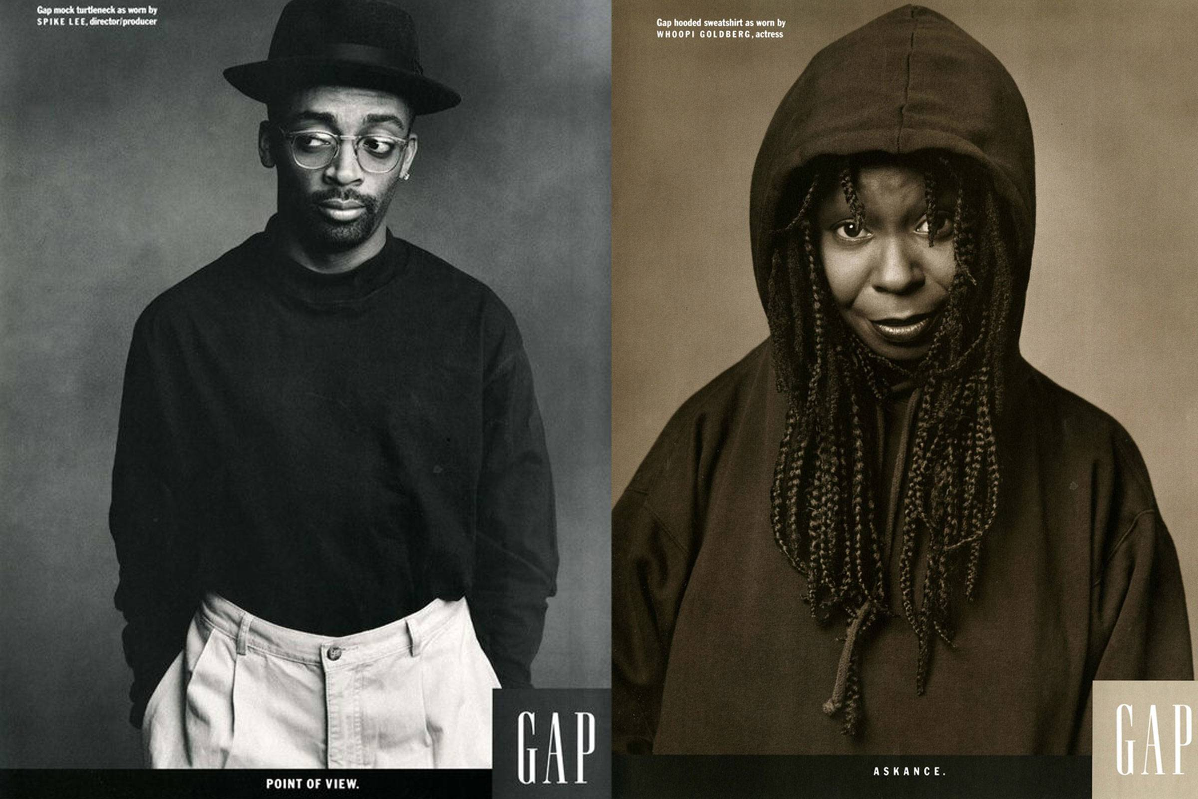 """fashion american style defined by Gap Inc through its successful 1988's """"Individuals in style"""" campaign"""